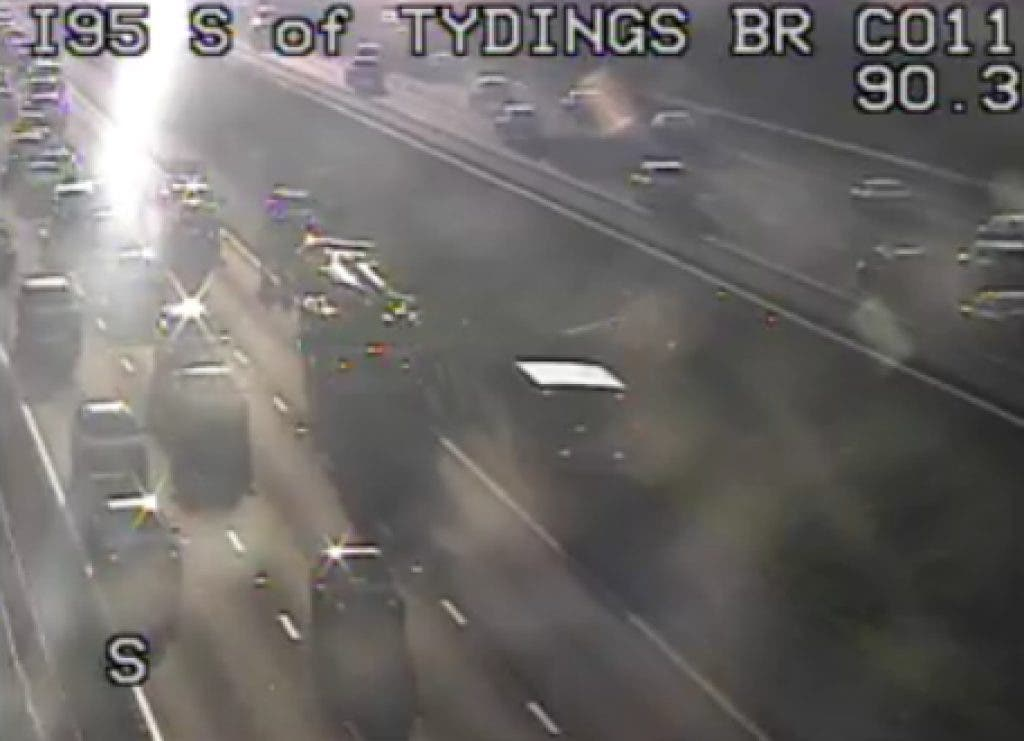 Accident On I-95 North At Tydings Bridge | Havre de Grace