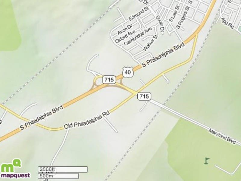 U.S. Route 40 To Be Shut Down At MD Route 715 | Aberdeen, MD Patch