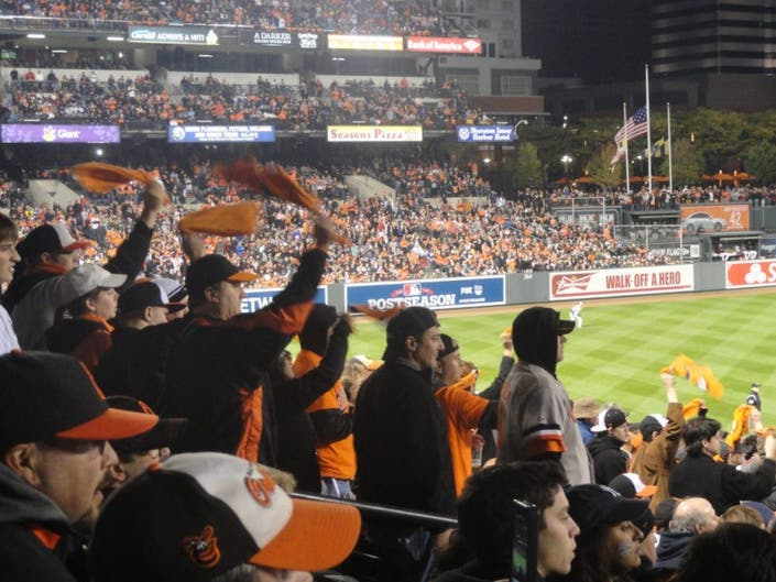 Orioles Rallies Get Started at Arundel Mills | Odenton, MD Patch