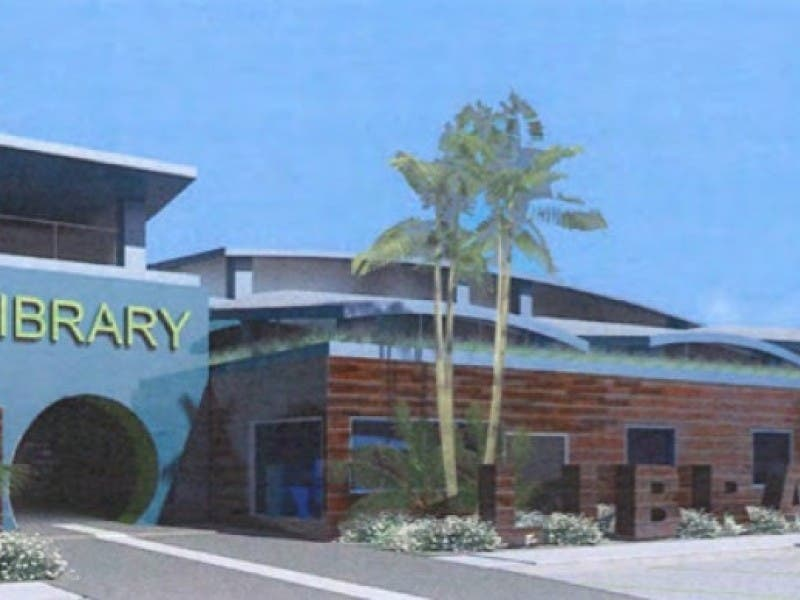 New Imperial Beach Library Takes First Steps