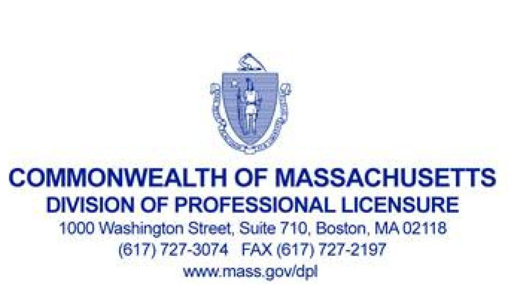 Ma Division Of Professional Licensure >> State Electrical Board Announces Enforcement Actions Against Acton