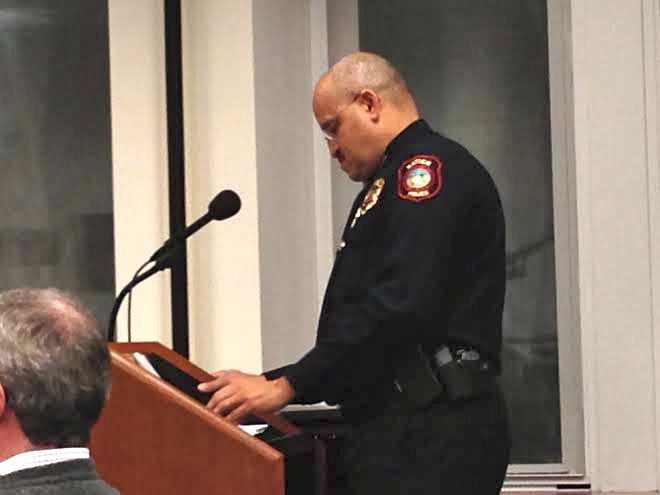 Selectman Mabardy Irked Over Police Chief's Stance on
