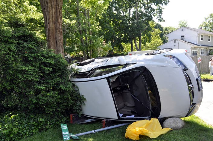 School Bus Crash Injures 2 Huntington NY Patch