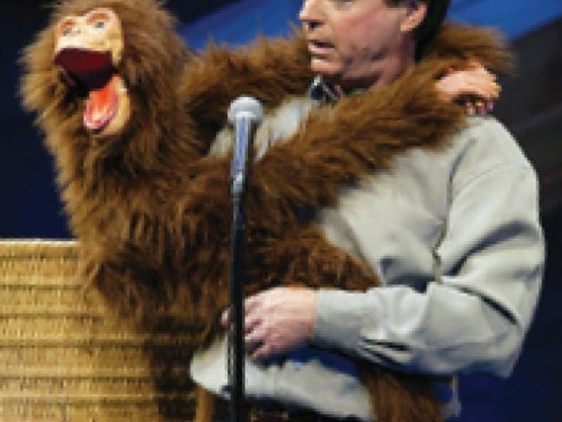 ventriloquist jay johnson crisp and poignant at landmark 0