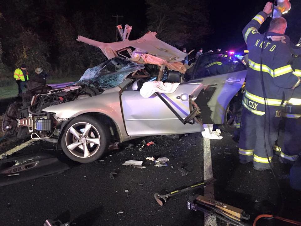 Updated: Two Dead after Route 4 Crash in North Kingstown