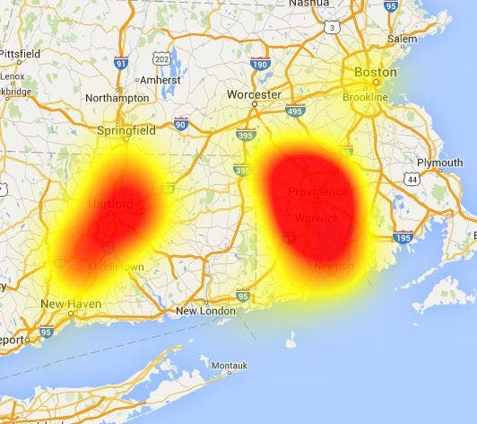 Huge Outage Affecting Northeast Cox Customers | Newport, RI Patch