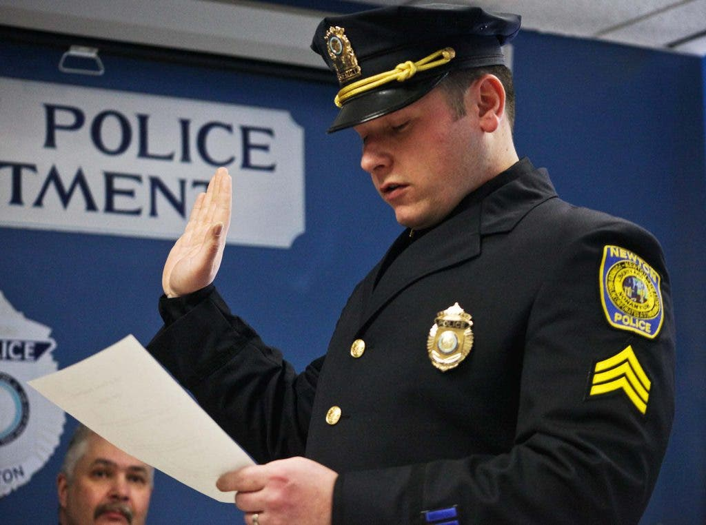 Photo/Video Gallery: Newton Police Honor Promoted Officers ...