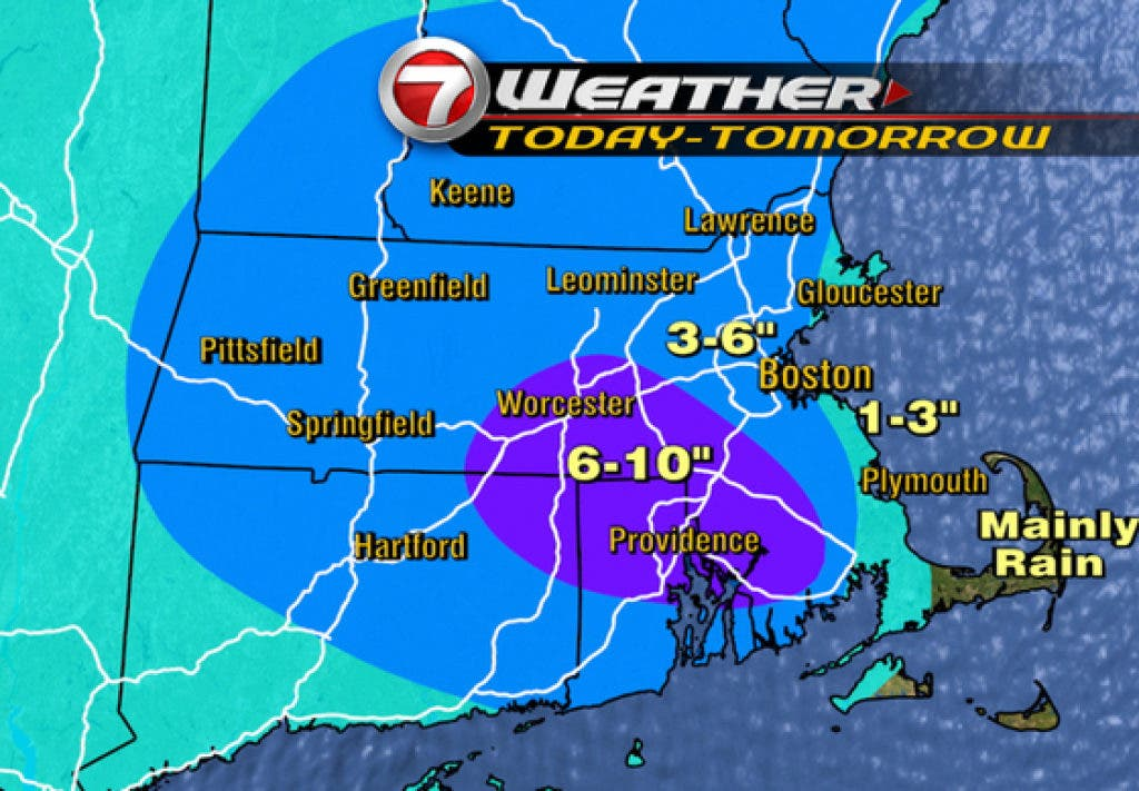 Latest Forecast: How Much Snow Will Weston Get? | Weston, MA Patch