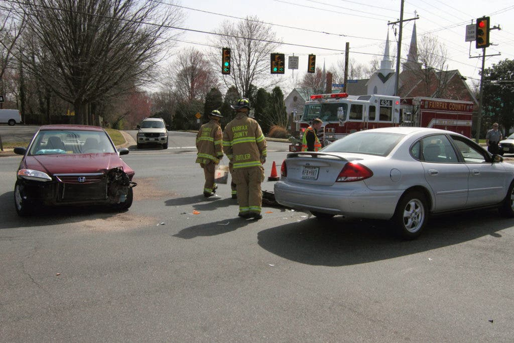 Accident On Route 123 Ties Up Traffic Sunday Afternoon