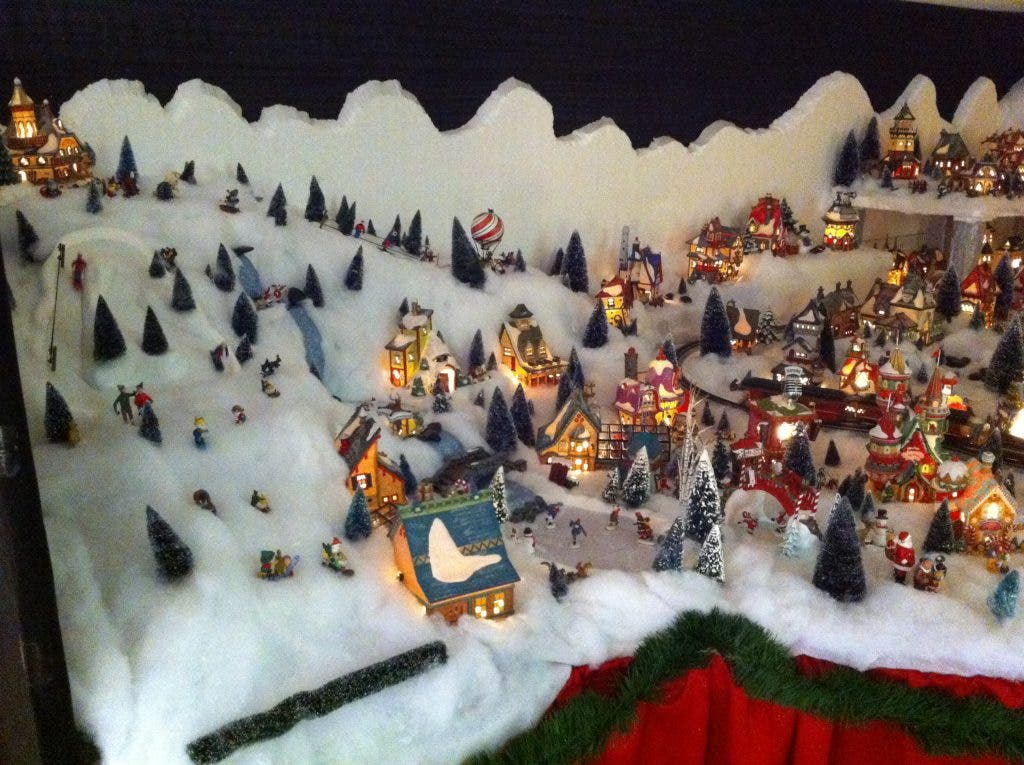 Brooksby Couple Creates North Pole Village in Their Home
