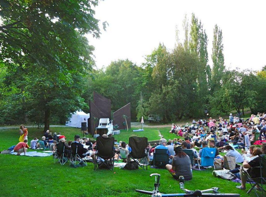 Shakespeare In The Park Concludes Mercer Island Run In Sunshine