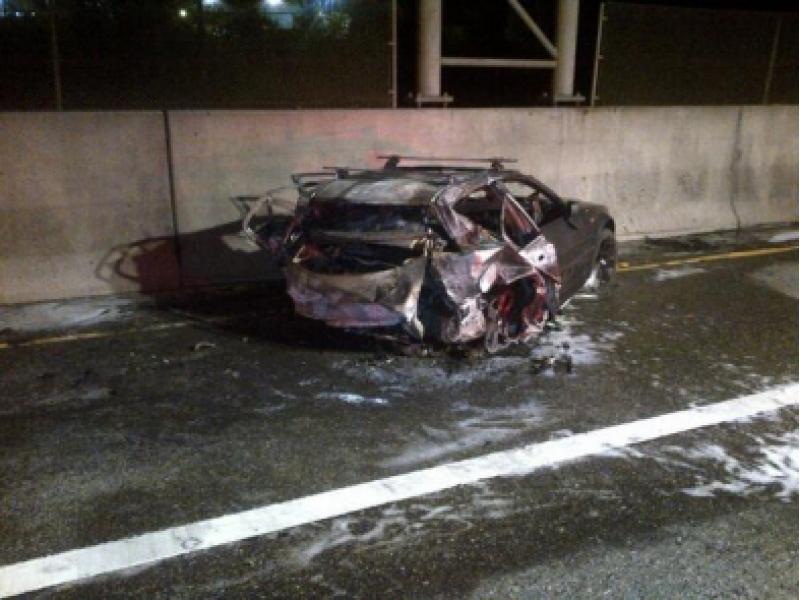 Update: Fatal I-405 Crash Blamed on Audi Exceeding 100 MPH
