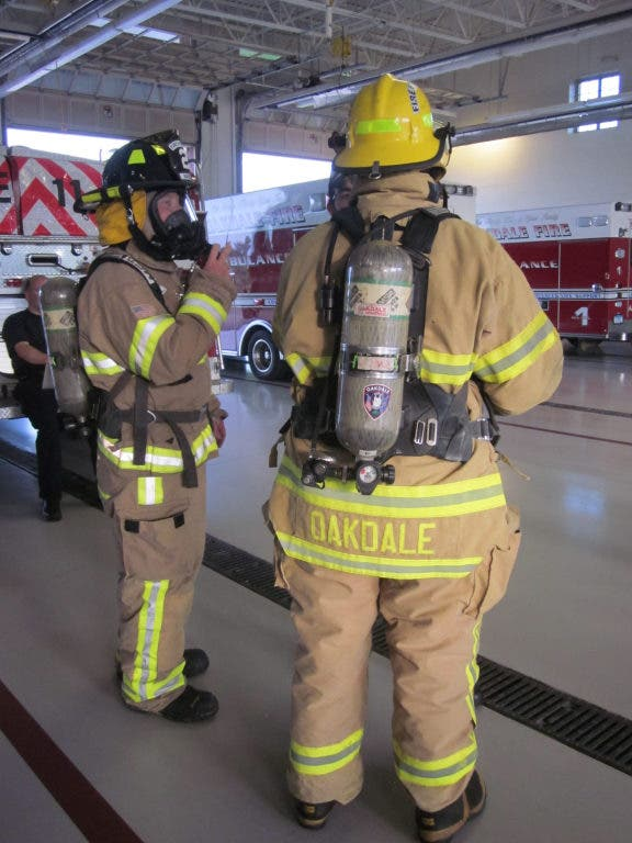 Oakdale Fire Explorers Get a Real Look at Life as a