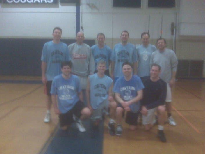 Lite Blue Team Wins Chatham Recreation Men's Basketball