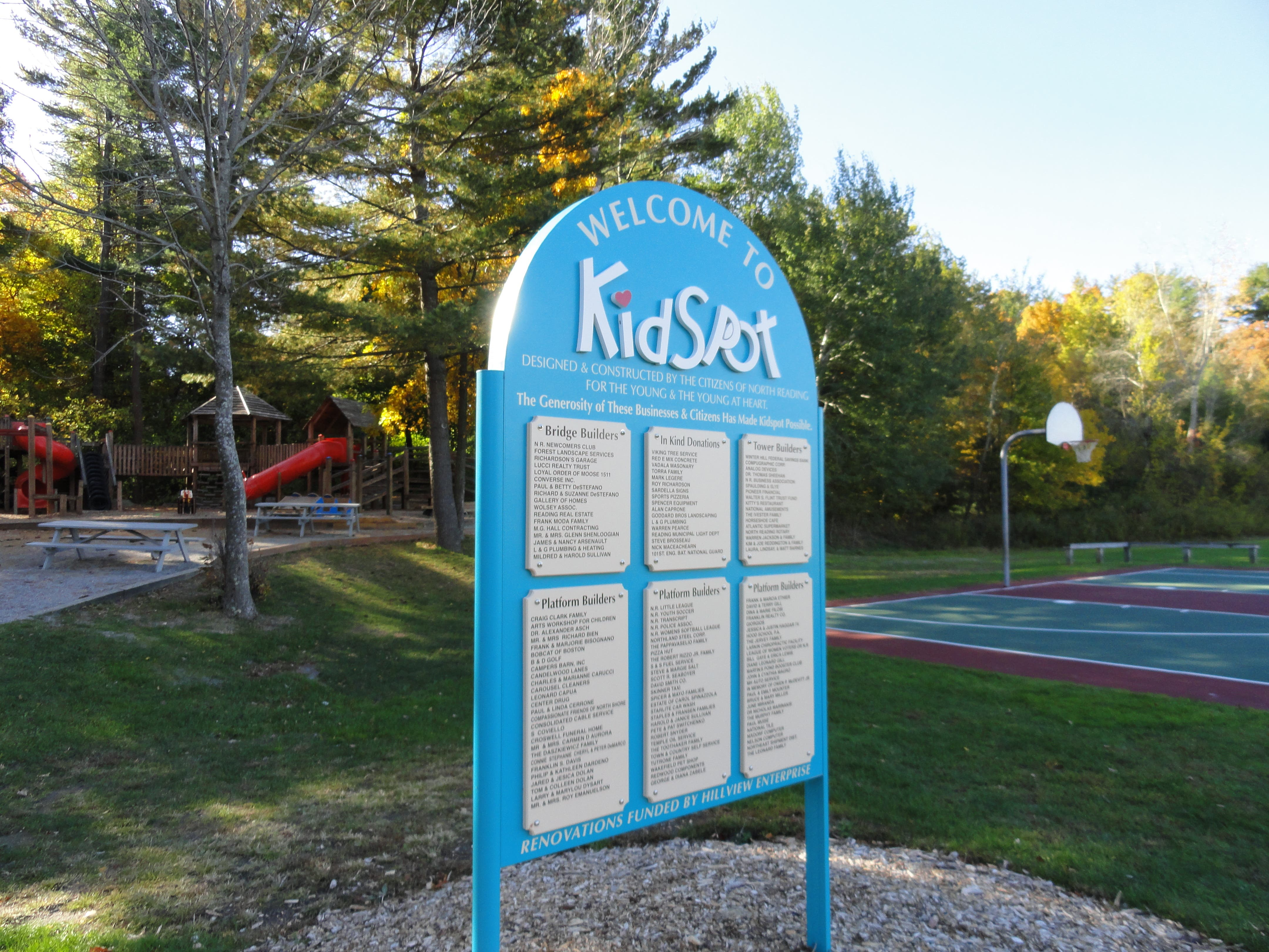Five Parks in Town | Reading, MA Patch