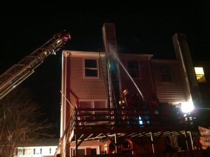 Blotter Firefighters Extinguish Chimney Fire At Sully Station Home