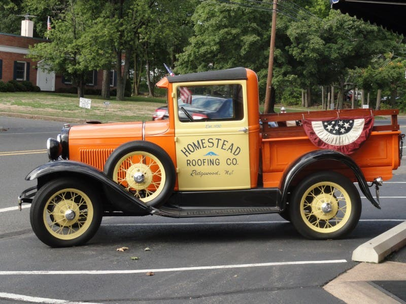 Homestead Roofing And Its Prized Truck Turn 80 Years Old