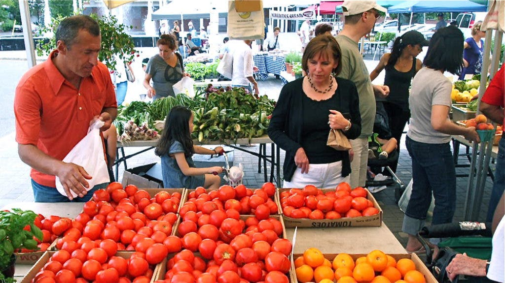 From Farm to Table: Tales are Told, Fresh Food Sold at