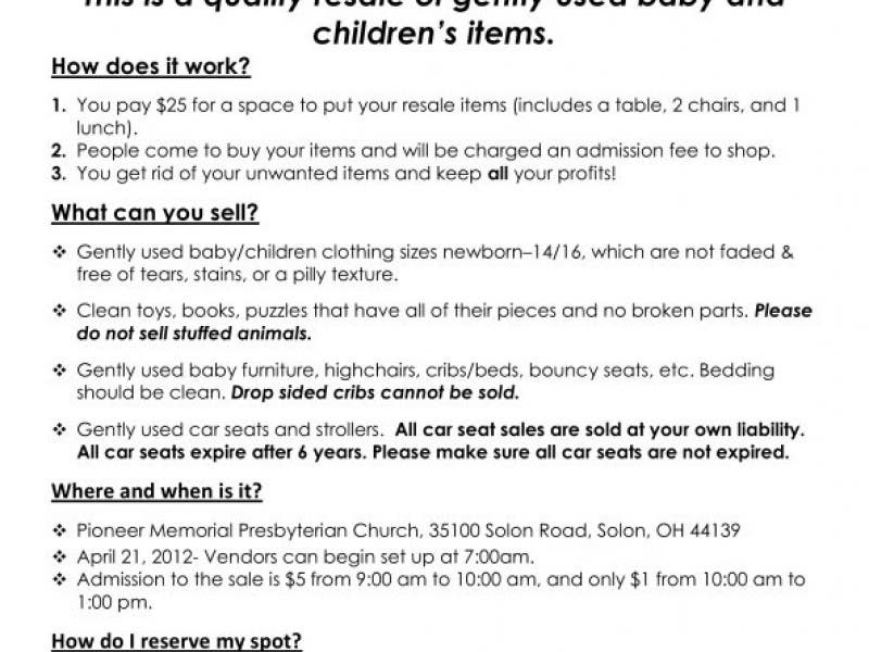 Totally Tots Bonanza Car Seat Safety Guide