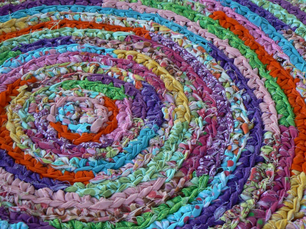 Crocheted Rag Rugs Narberth Pa Patch