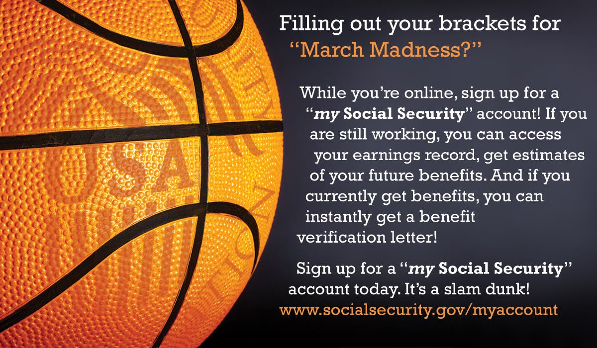 March Madness At Social Security | Brookline, MA Patch