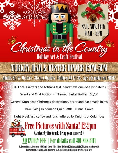 Christmas in the Country Festival in Libertytown