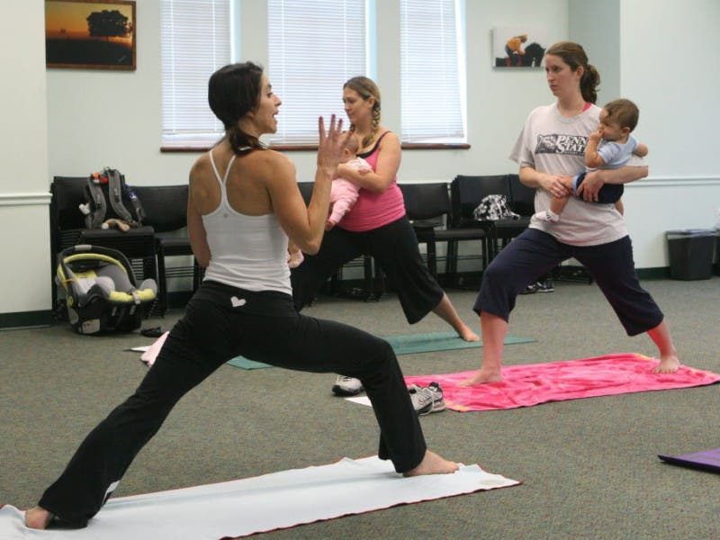 Namaste Baby: Mommy and Me Yoga Class at Westchase Library ...