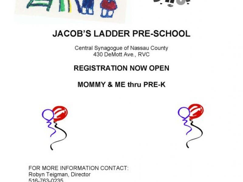 Registration For Jacobs Ladder Preschool With Programs From Mommy