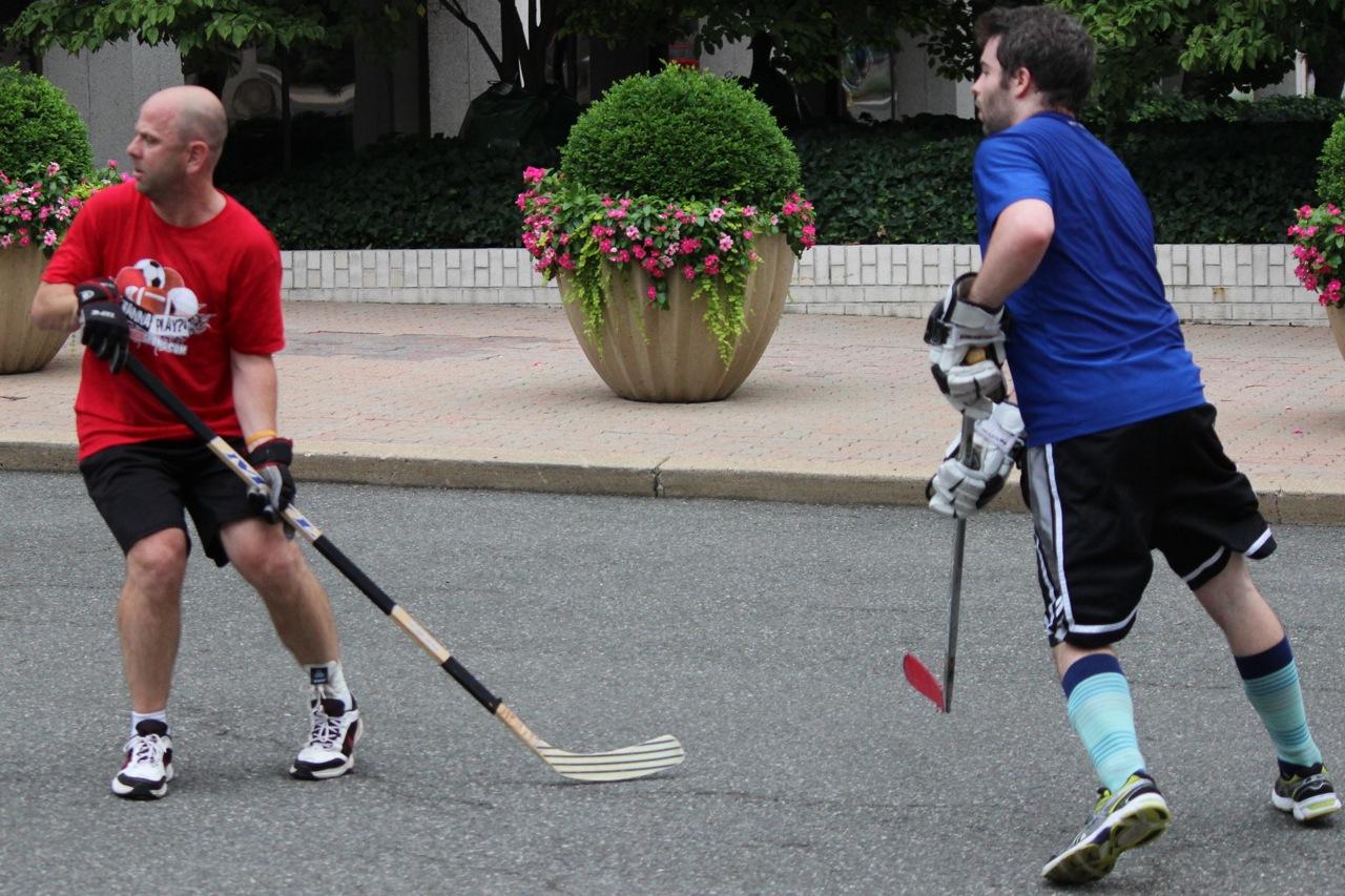 Street Hockey League Scores Big in Crystal City | Arlington