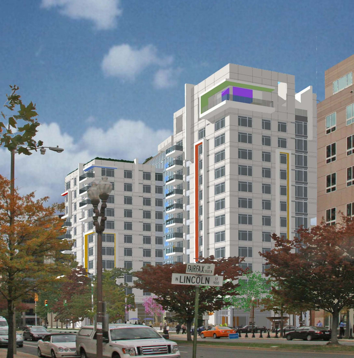 Arlington Square Apartments: Arlington Board OKs 12-Story Latitude Apartments Across