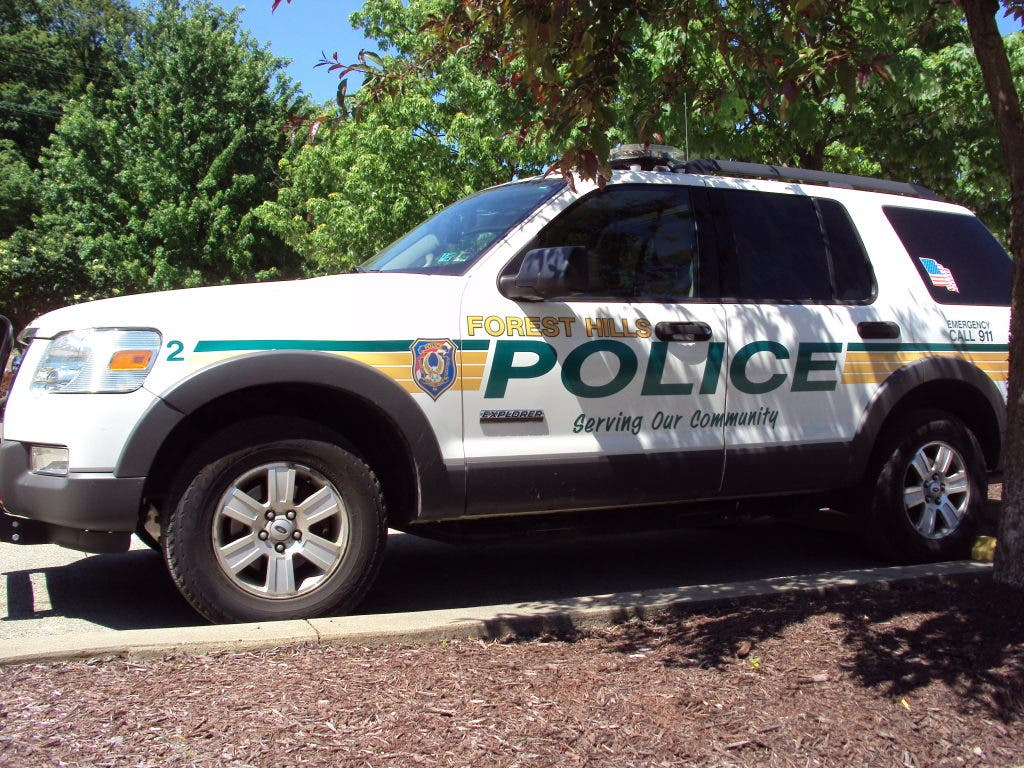 East Pittsburgh Police Vehicle Damaged After Accident with