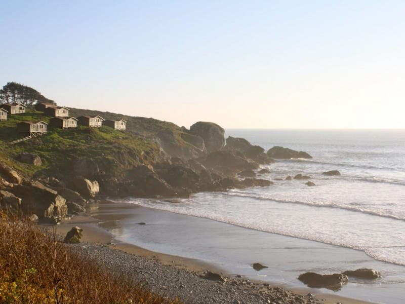 Retreat To Steep Ravine Cabins On Rocky Point 0