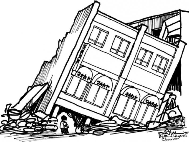 Blog Earthquake Be Afraid Be Very Afraid But Be Prepared San
