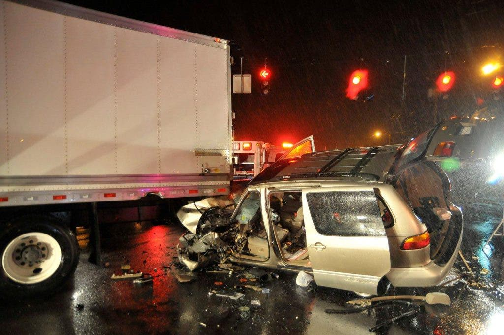 Woman Pinned in Truck Accident on Hempstead Turnpike