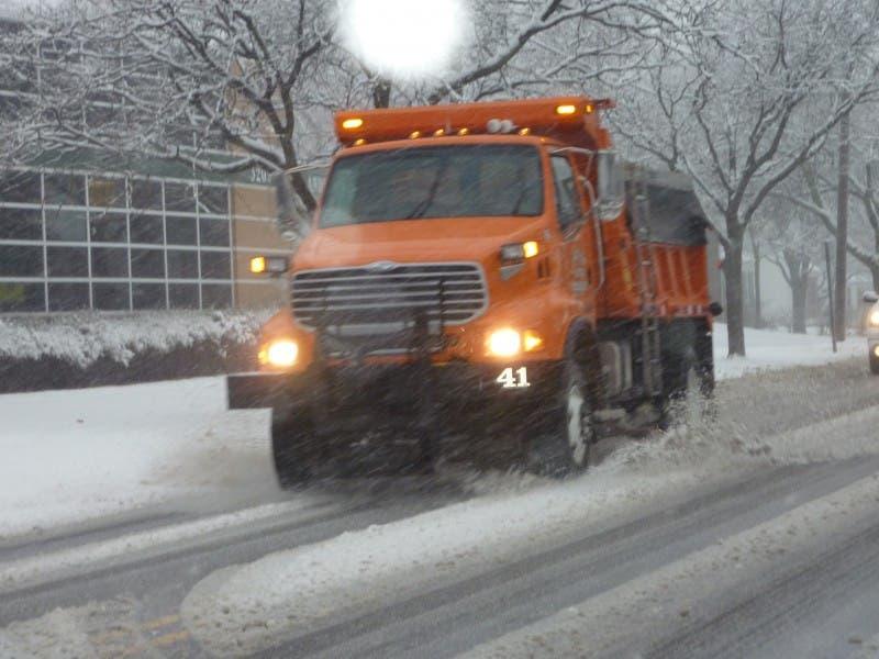 City Crews Prepare for Snowstorm   St  Clair Shores, MI Patch