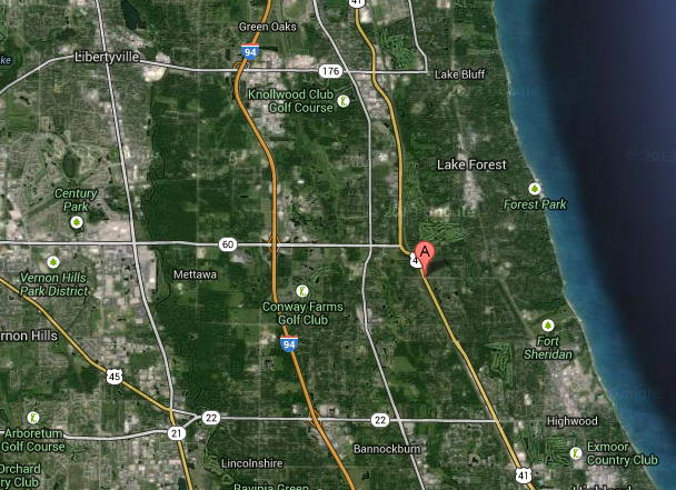 One Dead, Two Injured in Lake Forest Crash | Libertyville