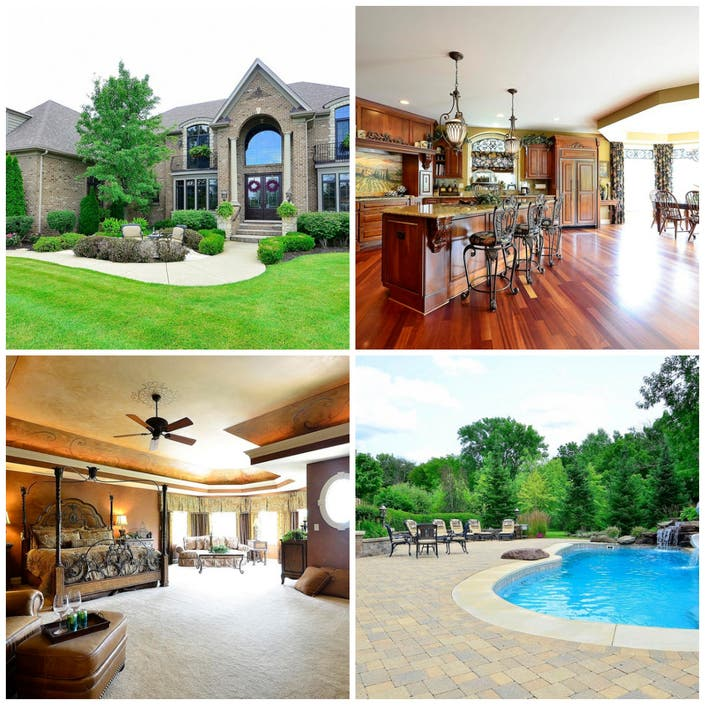 Zillow Real Estate Ct: House Wow: 5-Bedroom Batavia Home With Pool, Waterfall