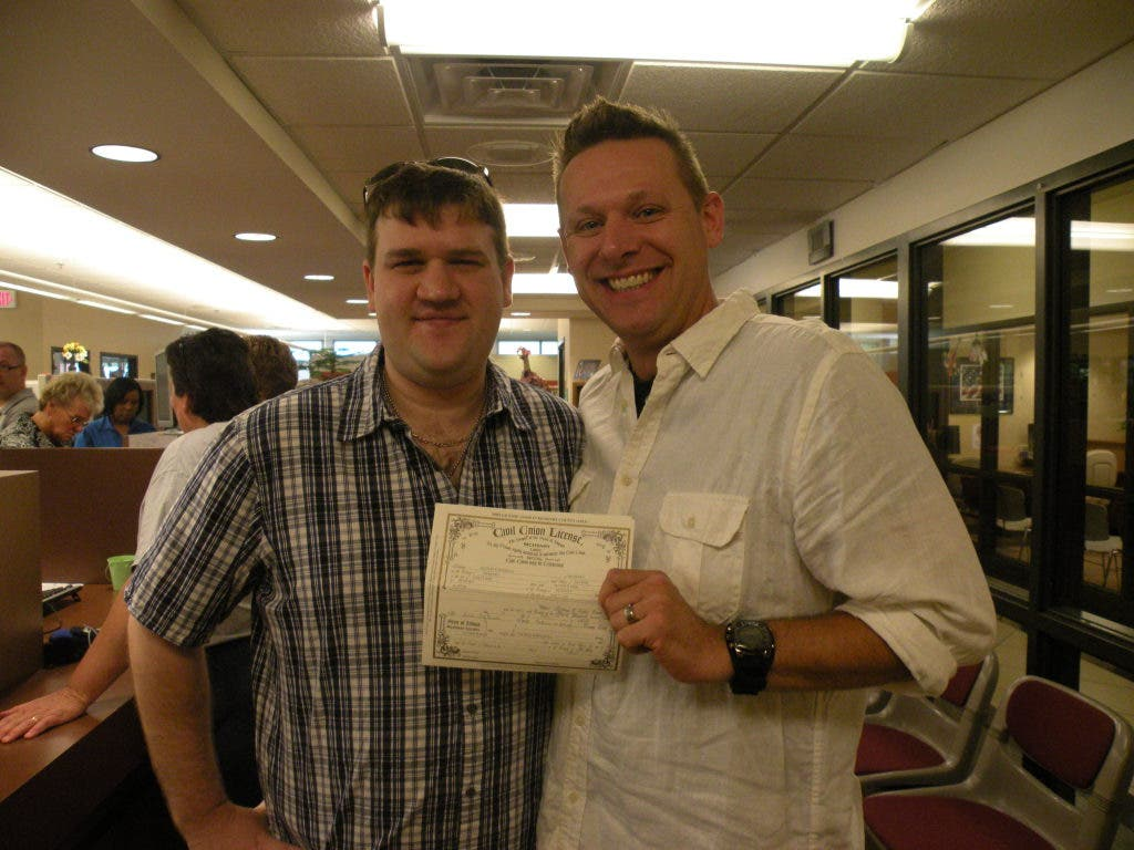 mchenry county couples line up for civil union license