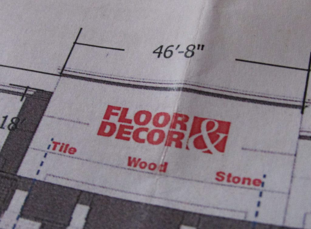 Floor And Decor Signs Spell Out What You Can Buy Arlington