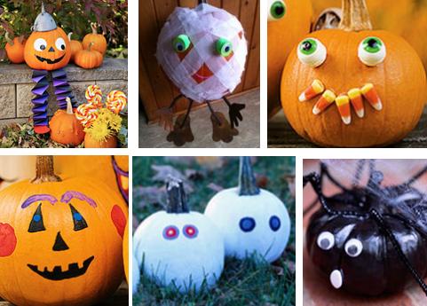 Easy No Carve Pumpkin Decorating Ideas Algonquin Il Patch