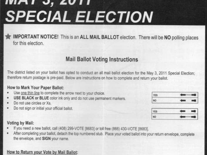 May 3 Election: Too Close to Call on Measure E Parcel Tax