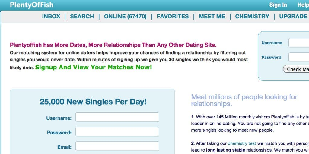 online dating for over 30