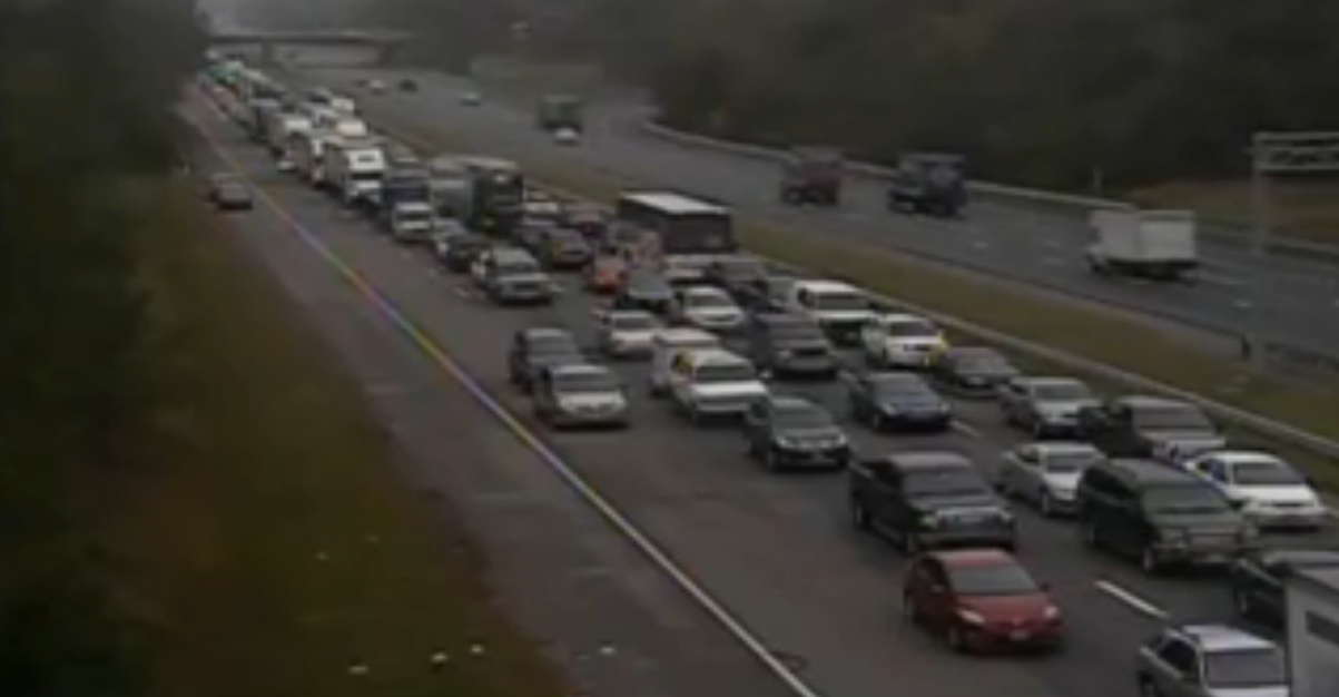 Major Traffic Delays Heading South on Interstate 95