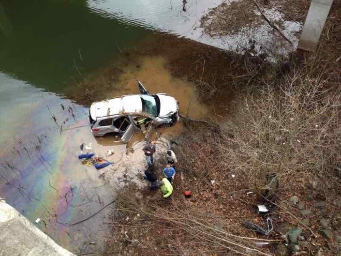 Murder-Suicide Survivor Recovering, Car in Lake Lanier