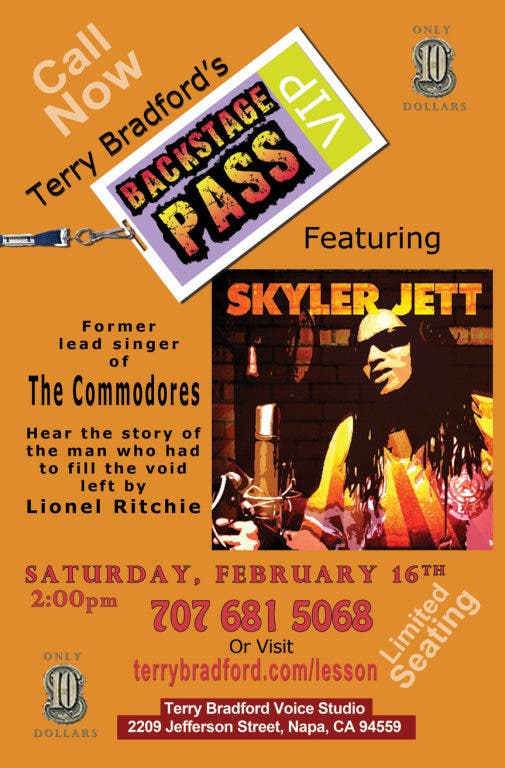 Terry Bradford's Backstage Pass - featured guest is Skyler
