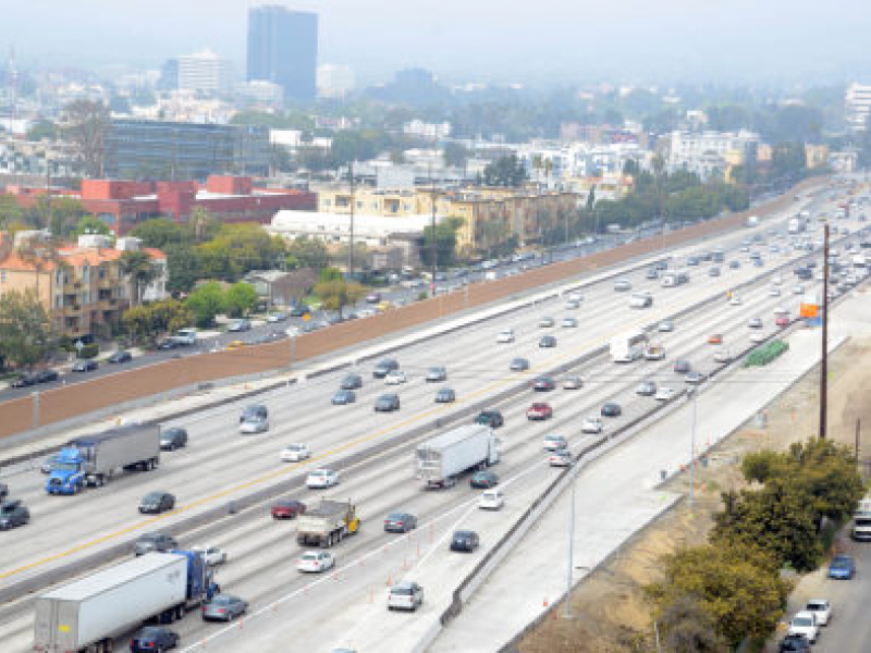 Feds Blame Faulty Retaining Walls For 405 Widening Delays