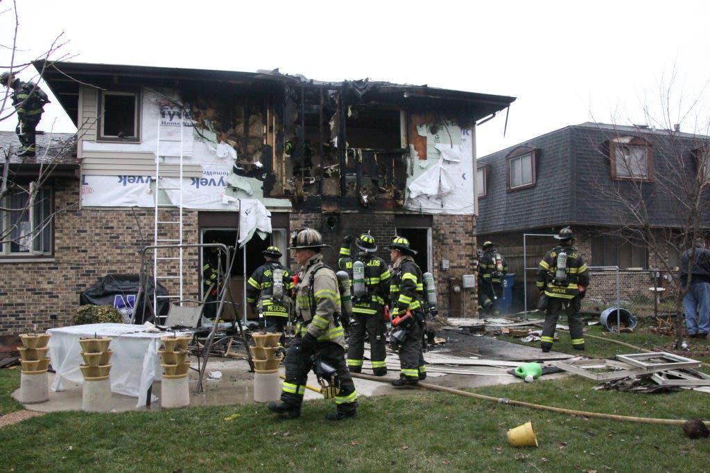 Palos Fire Christmas 2020 Chimney Fire Sparks Blaze At Palos Home   Palos, IL Patch