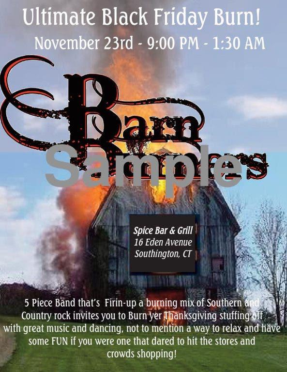 Barn Burners Ultimate Black Friday Burn! | Southington, CT ...