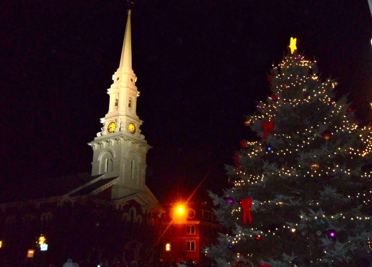 Parade Cancelled Tree Lighting Held Sunday Portsmouth