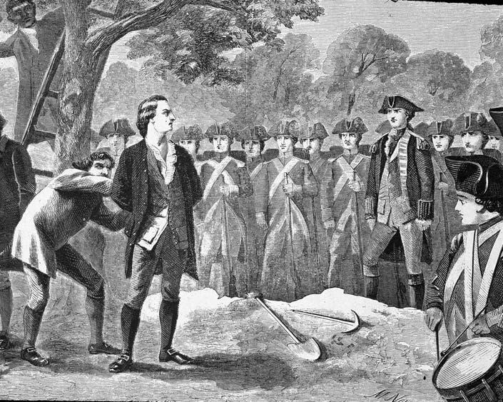 March 16, George Washington Spied Here: Spies and Spying in the American Revolutionary War